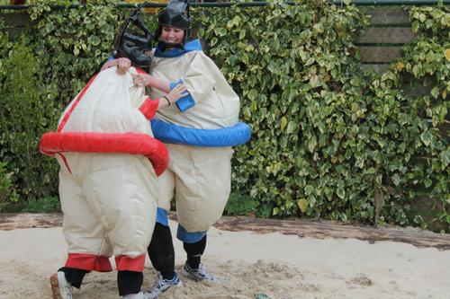 Sumoworstelen bij de Wilgenweard