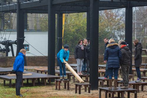 Teambuilding bij De Wilgenweard in Nijverdal.