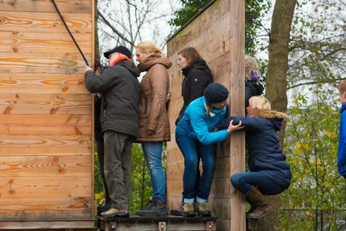 Teambuildingspad van de Wilgenweard bij de Watertoren