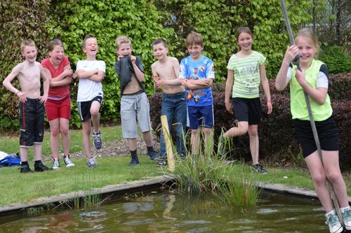 Slingertouw als schooluitje, kinderfeestje of schoolreisje bij De Wilgenweard in Nijverdal