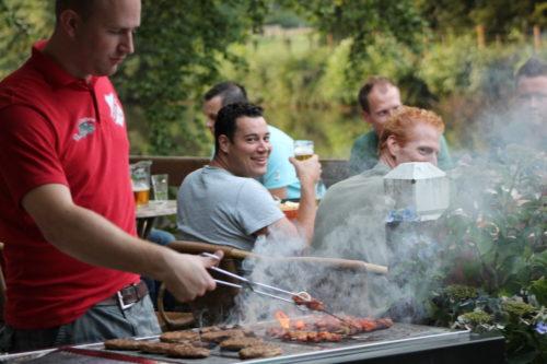 Barbecue aan het water