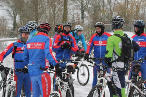 mountainbiken bij de Wilgenweard Nijverdal 2