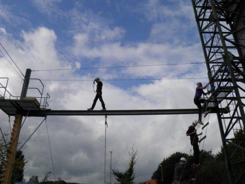 Activiteit op hoogte bij De Wilgenweard